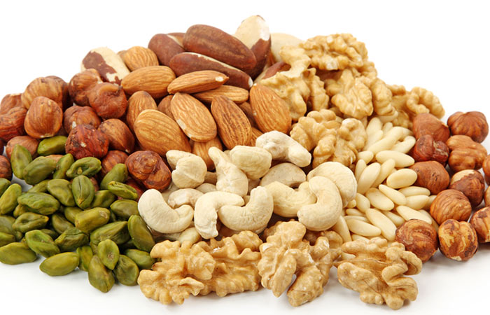 Foods To Avoid Digestion Problems - Nuts & Seeds