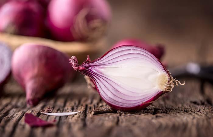 10. Onion Juice