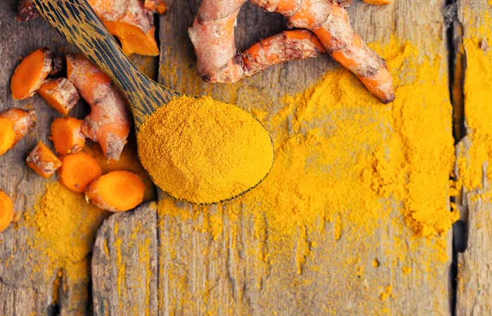 10. Turmeric For Blood Blisters