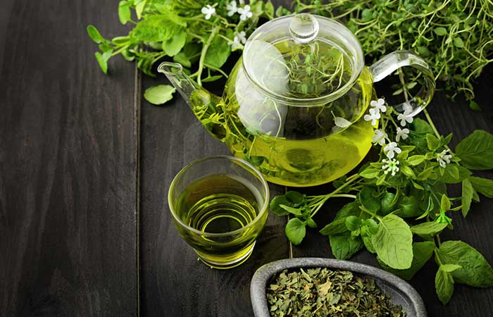 Home Remedies For Dust Allergy - Green Tea