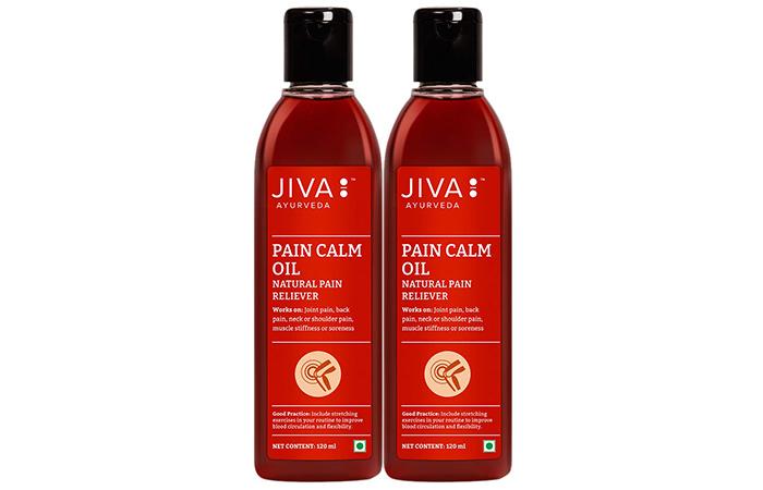 Jiva Ayurveda Pain Calm Oil