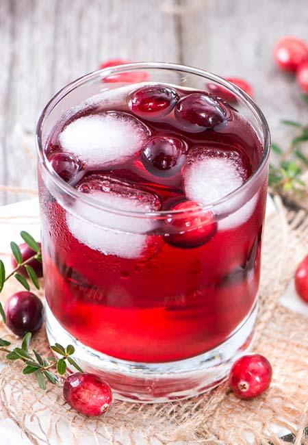 13. Cranberry Juice