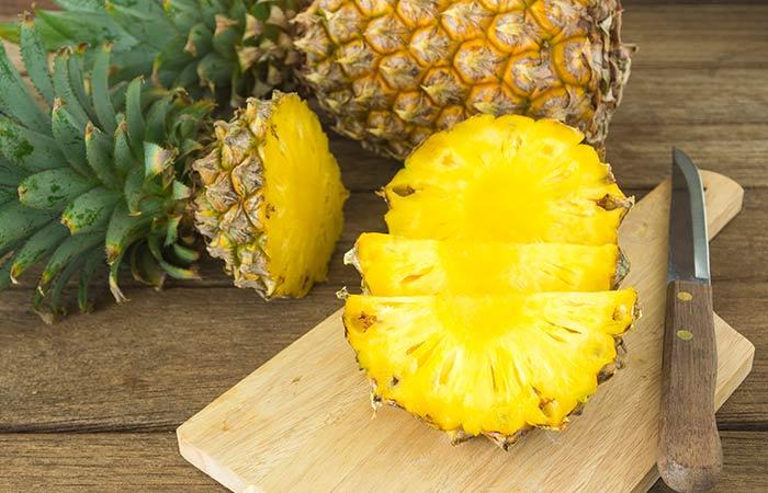 15. Pineapple For Gastritis