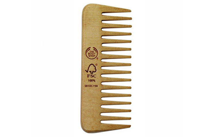 15. The Body Shop Detangling Comb