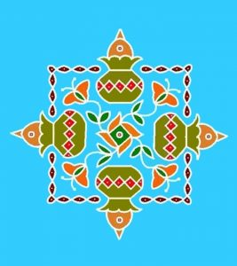 16 Best Pongal Kolam Designs That You Should Try In 2018