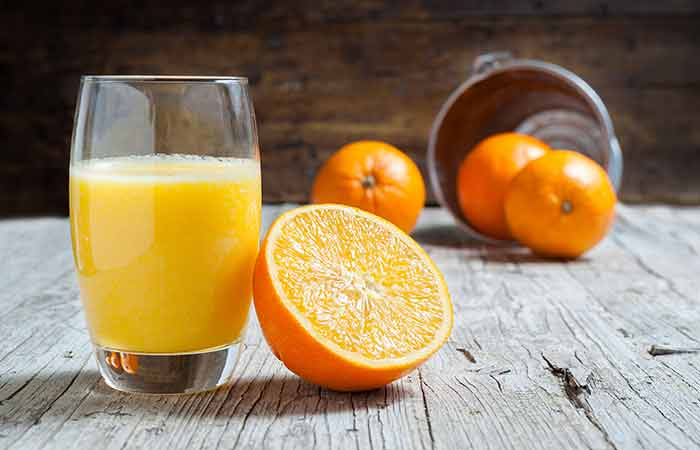 Home Remedies For Phlegm (Mucus) -Orange Juice
