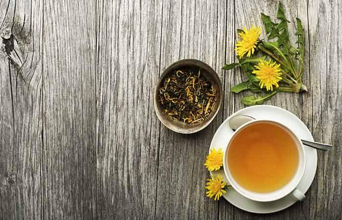 17. Dandelion Tea