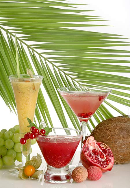 19. Pomegranate And Litchi Juice