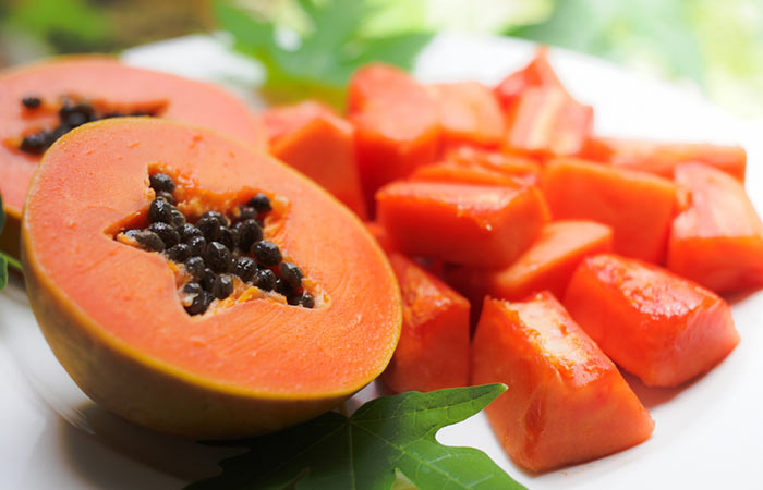 Foods That Aid Digestion - Papaya
