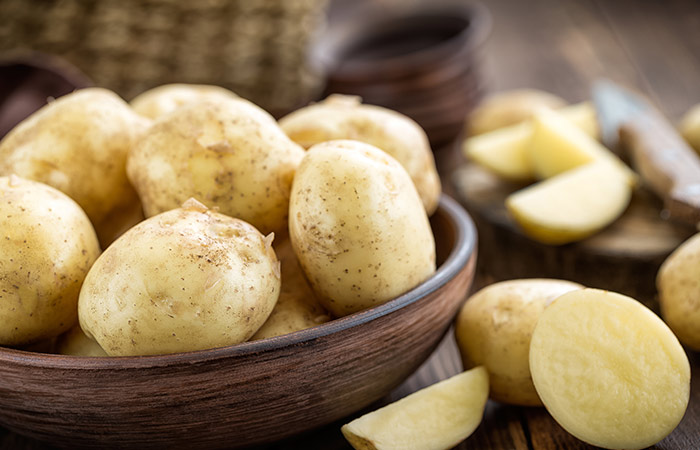 21. Potato Juice For Gastritis