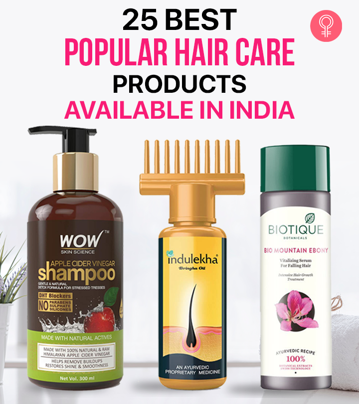 25 Best Popular Hair Care Products Available In India
