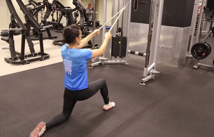 Seated Row Exercise - High Pulley Seated Row