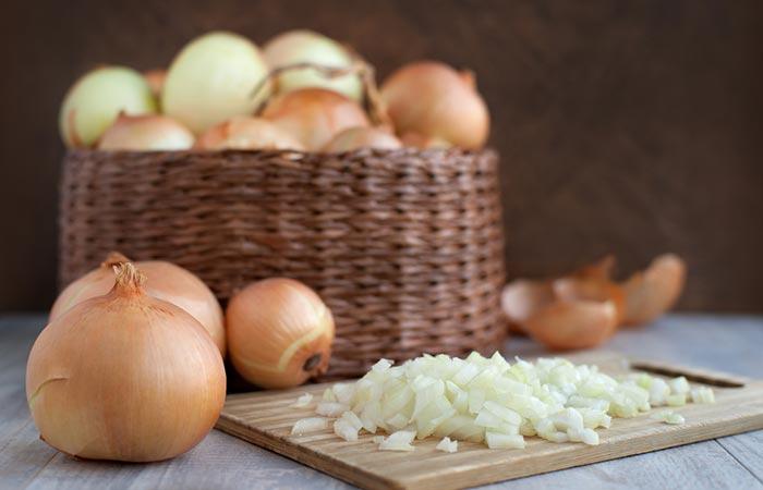 3. Onion Juice