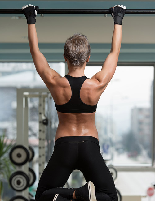 Pull-Up Exercises For Women - Tarzan Climber Pull-Up
