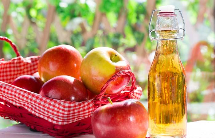 4. Apple Cider Vinegar For Blood Blister