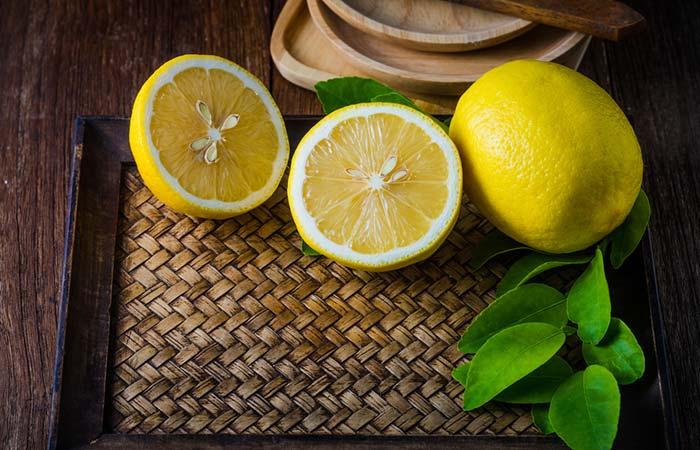 4. Lemon For Vomiting