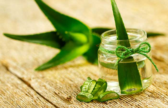 Home Remedies For Dust Allergy - Aloe Vera