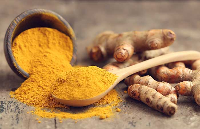 Home Remedies For Phlegm (Mucus) - Turmeric