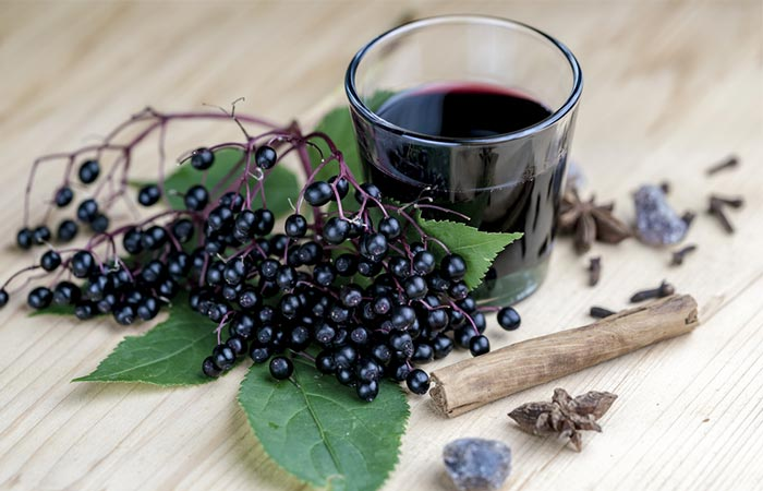 7. Elderberry Syrup