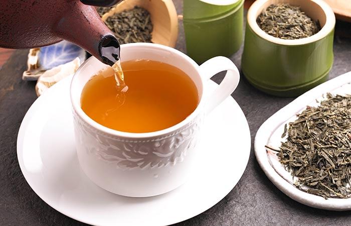 7. Green Tea For Gastritis