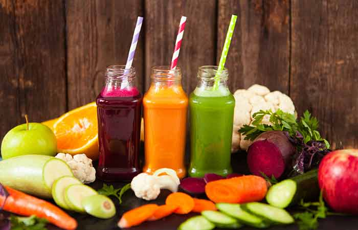 7. Vegetable Juices