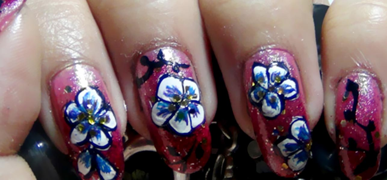 10 amazing hand painted nail art designs prinsesfo Gallery
