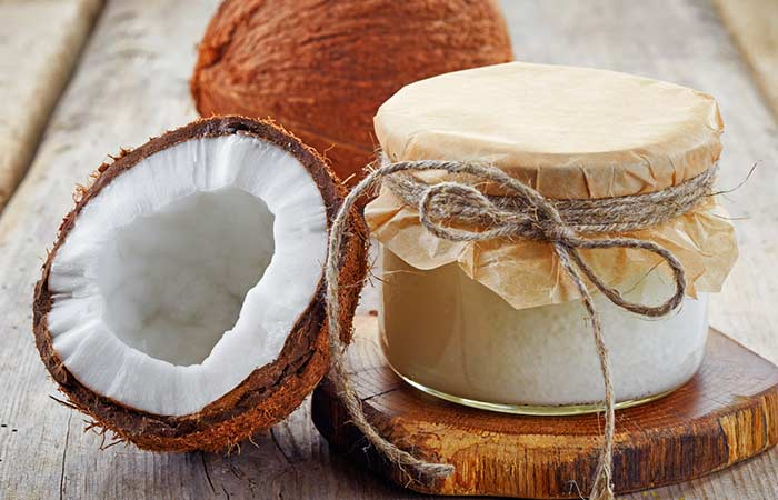 Home Remedies To Get Rid Of Indigestion - Coconut Oil