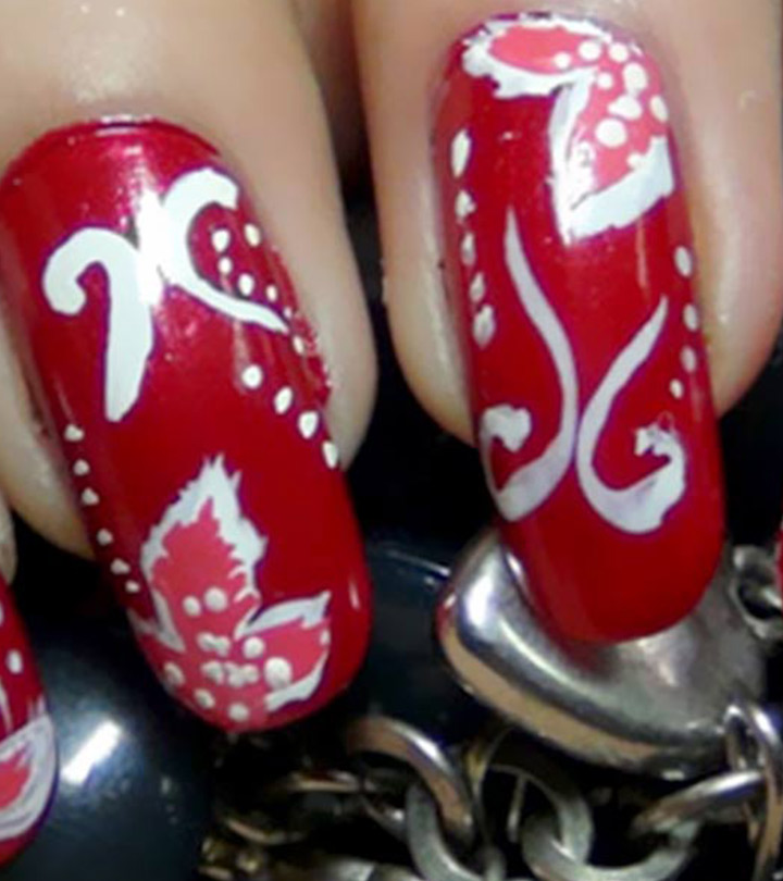 Amazing-Red-Nail-Art-Tutorials-With-Detailed-Steps