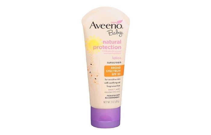 Aveeno Active Baby Natural Protection SPF 50+ Lotion