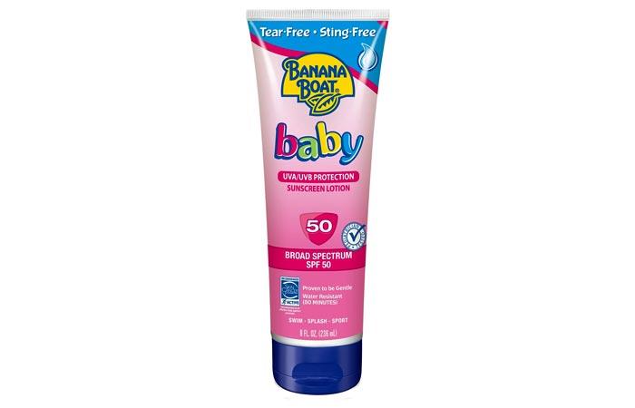 Banana Boat Baby Sunscreen Lotion SPF 50