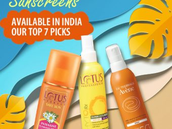 Best Spray Sunscreens Available In India – Our Top 7 Picks