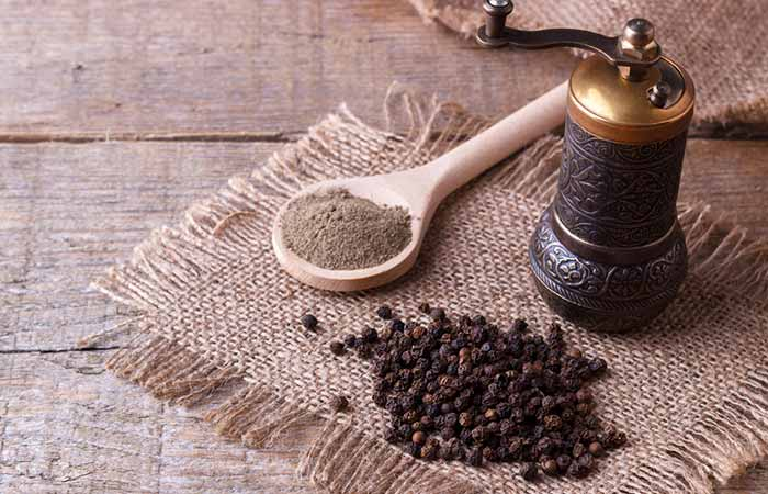 Tuberculosis Treatment - Black Pepper
