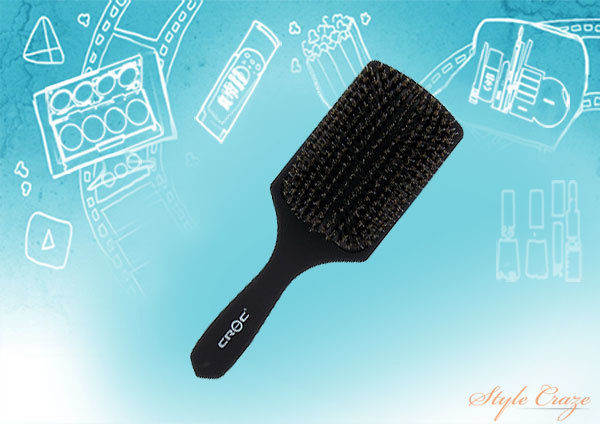 Boar Bristle Paddle Brush