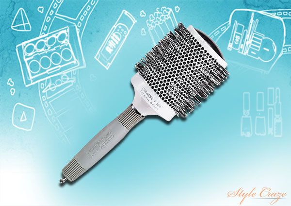 Ceramic and Ion Big Round Brush