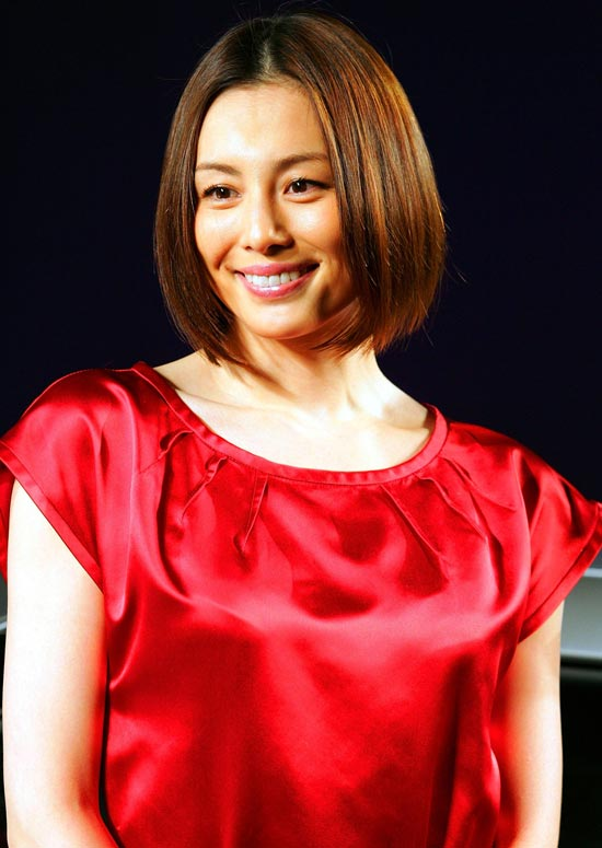Chin-Length-Bob-with-Middle-Part