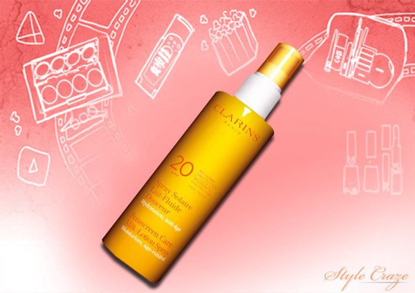 Clarins- Sunscreen Spray