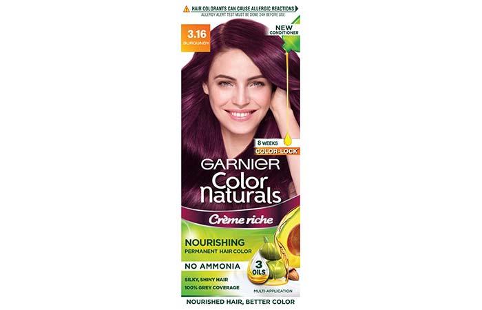 Garnier Color Naturals – 3.16 Burgundy