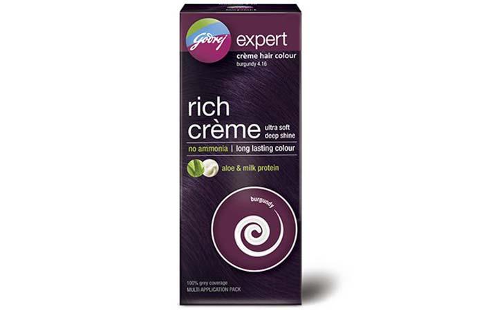 Godrej Expert Creme Hair Color – 4.16 Burgundy