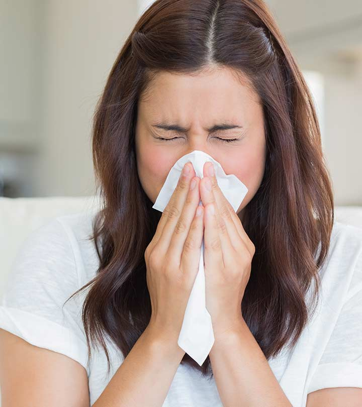 How To Stop A Runny Nose (Rhinorrhea) Fast