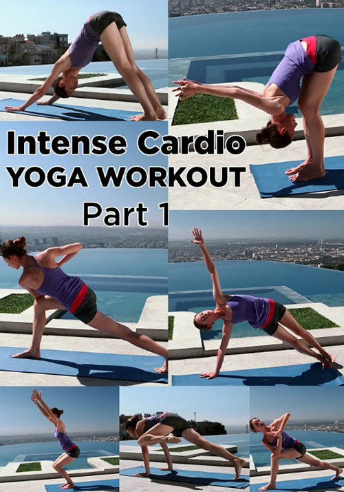 Yoga Intense Cardio Workout for Weight Loss