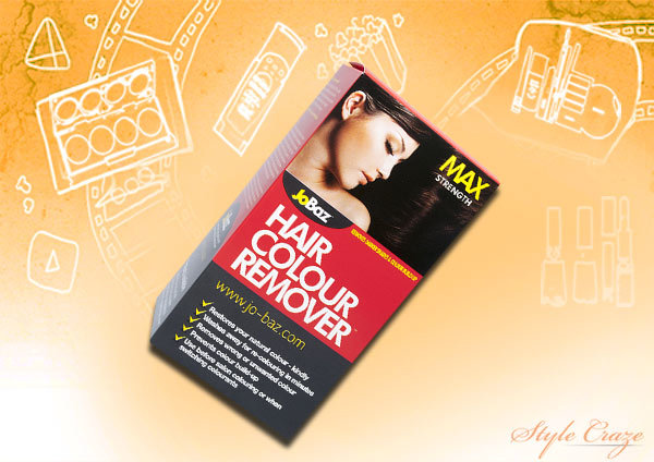 JoBaz Hair Colour Remover