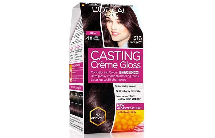 L'Oreal Paris Casting Creme Gloss – 316 Burgundy