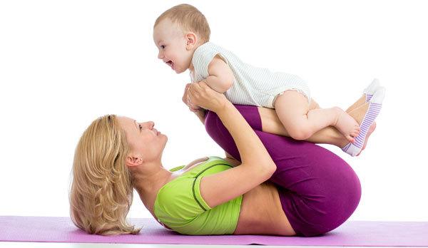 Pavanmuktasana for moms