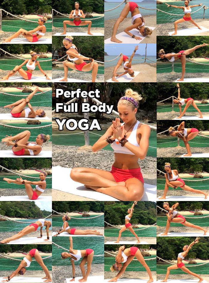 Perfetto per tutto il corpo Yoga Collage_0
