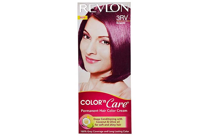 Revlon Color 'N Care Permanent Hair Color – 3RV Burgundy