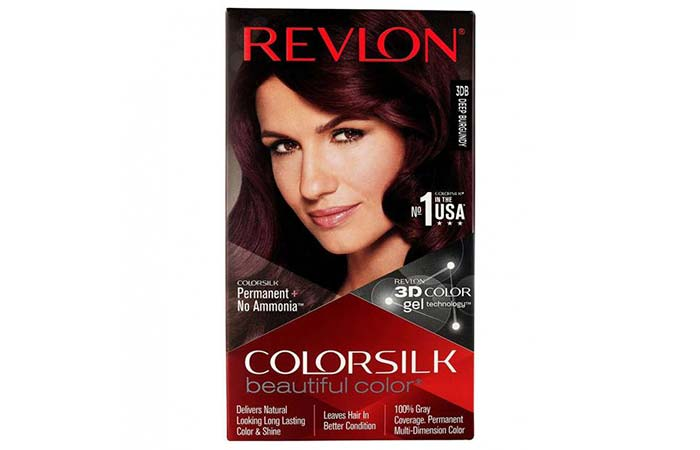 Revlon ColorSilk Beautiful Color – 3DB Deep Burgundy