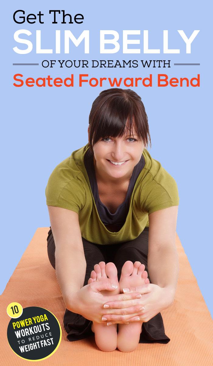 Seated forward pose