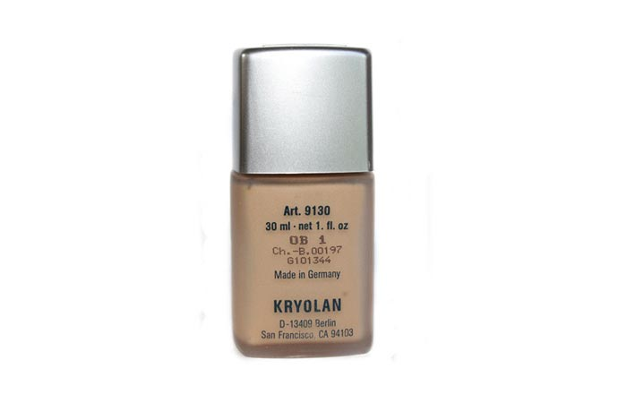 9. Ultra Fluid Foundation - Best Kryolan Foundation