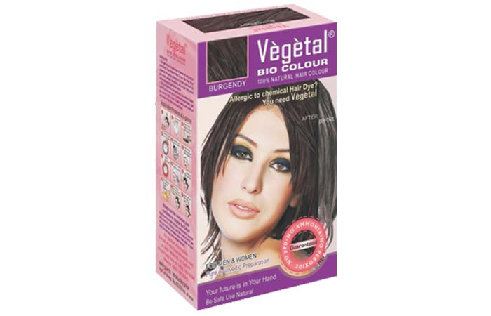 Vegetal Bio Color Burgundy
