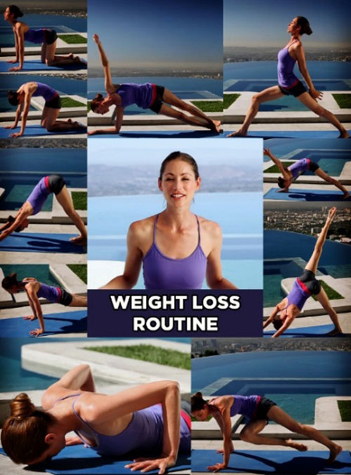 Power Yoga For Weight Loss - Weight Loss Yoga Routine